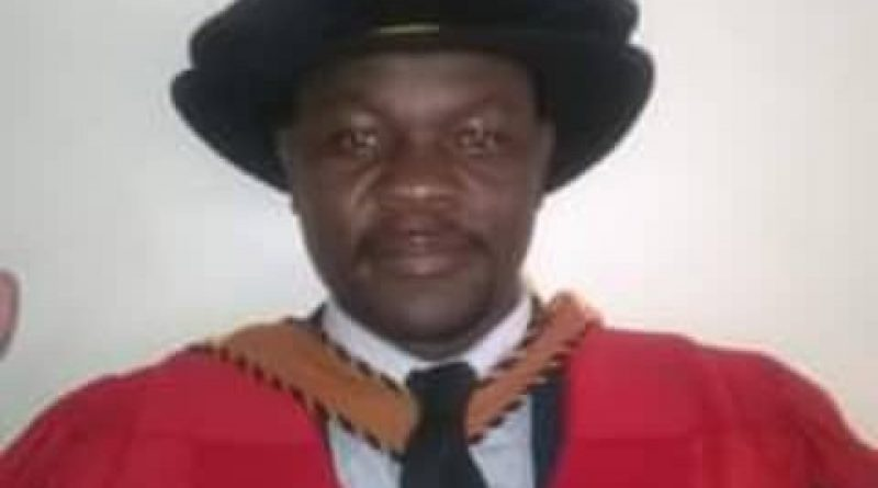 In Picture : Dr Vincent Chakunda