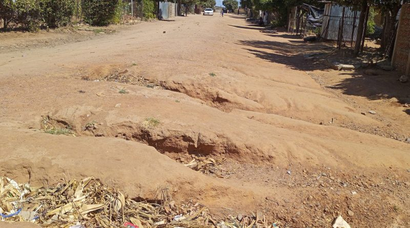 In Picture : Some of the roads have formed gullies