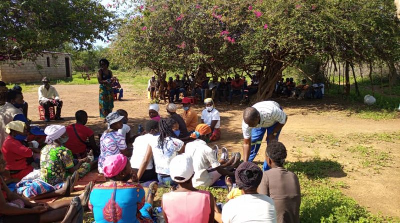 In Picture : Silobela residents in Mzila at a community meeting