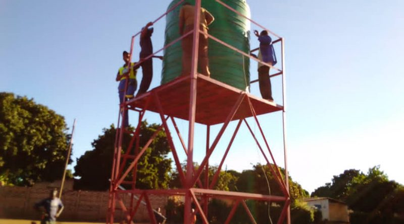 In Picture: drilling of boreholes and installation of water                                                                 tanks can go a long way in easing water crisis